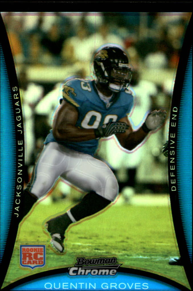 2008 Bowman Chrome Refractors #BC6 Quentin Groves