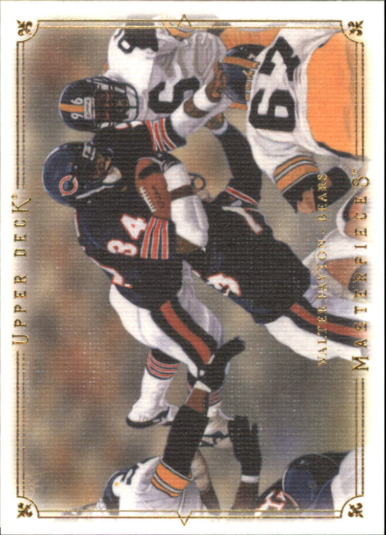 2008 UD Masterpieces #88 Walter Payton