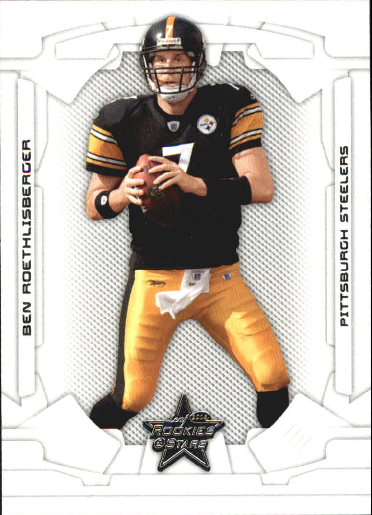 2008 Leaf Rookies and Stars #75 Ben Roethlisberger