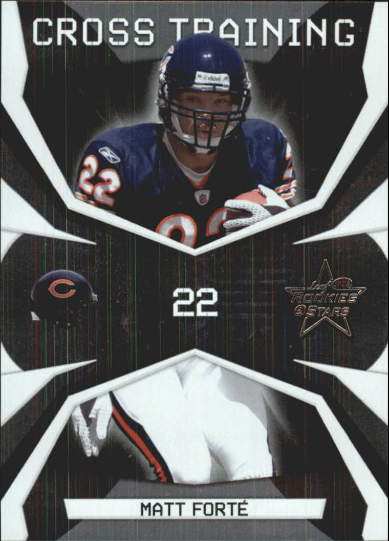 2008 Leaf Rookies and Stars Crosstraining #30 Matt Forte