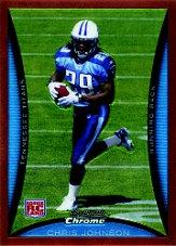 2008 Bowman Chrome Rookies Bronze #BC76 Chris Johnson