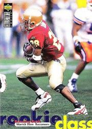 1997 Buccaneers Collector's Choice #TB8 Warrick Dunn