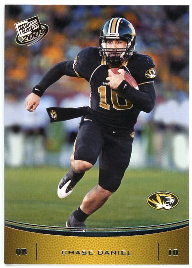 2009 Press Pass #2 Chase Daniel
