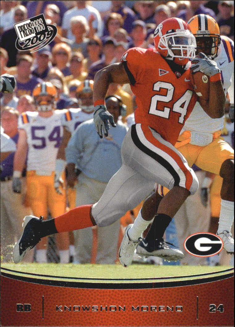 2009 Press Pass #19 Knowshon Moreno
