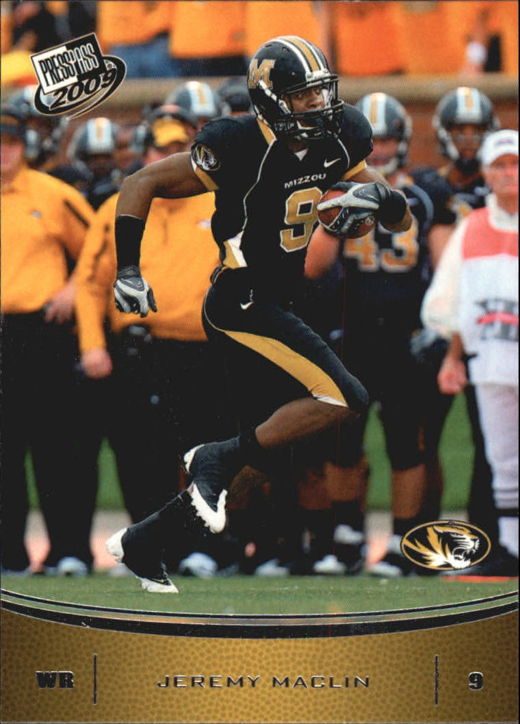 2009 Press Pass #28 Jeremy Maclin