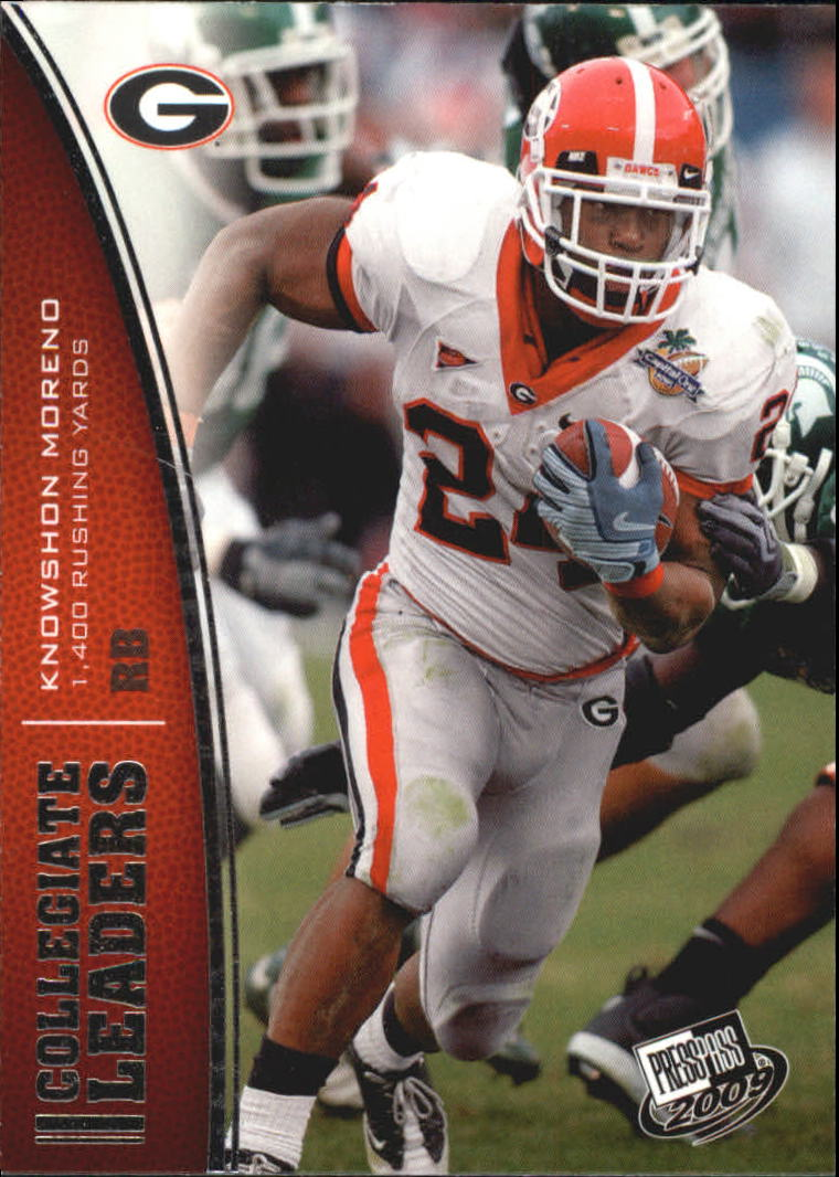 2009 Press Pass #73 Knowshon Moreno LL