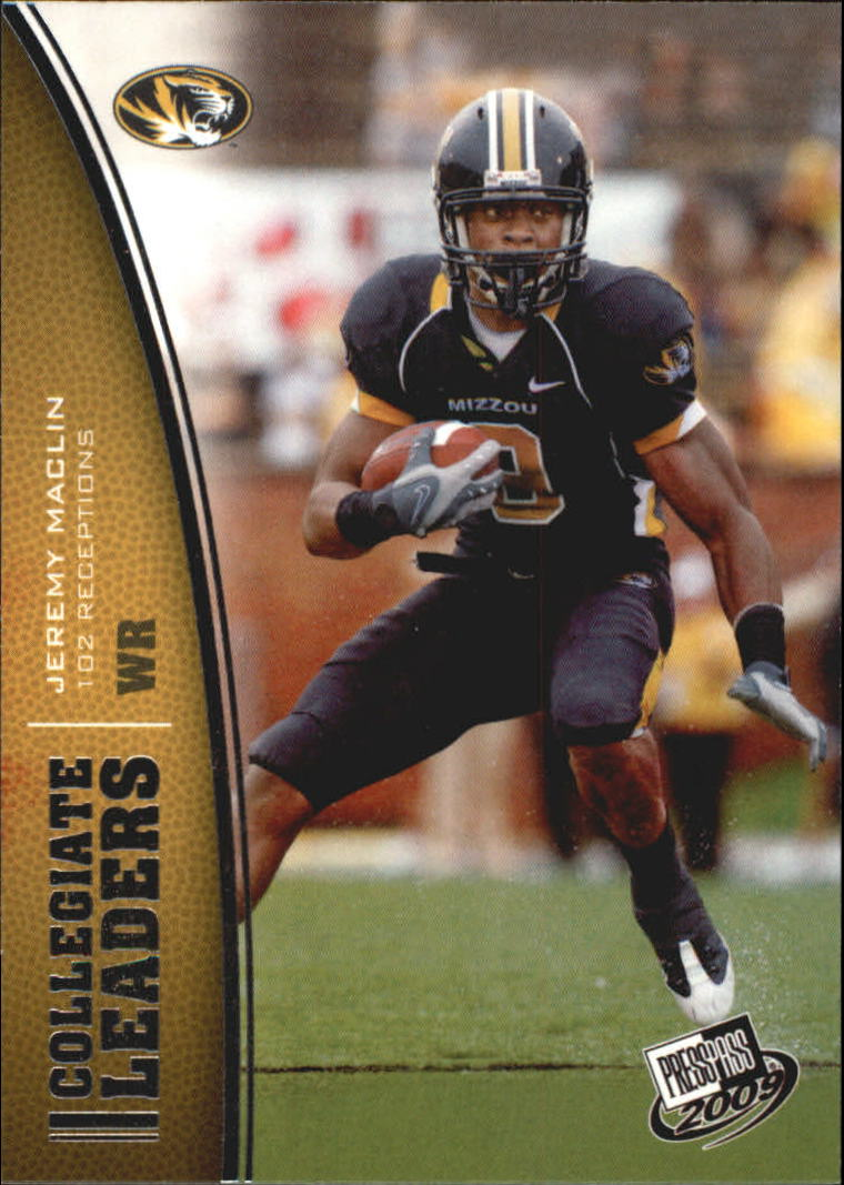 2009 Press Pass #71 Jeremy Maclin LL