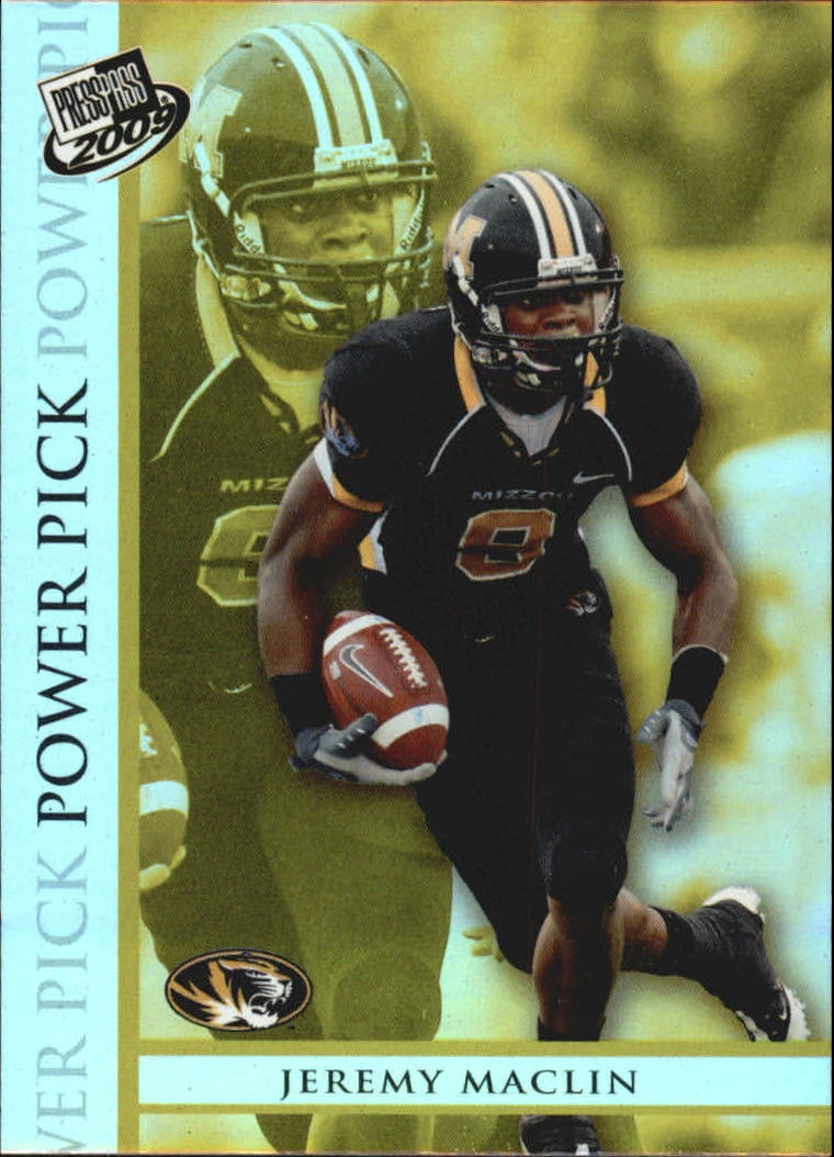 2009 Press Pass #105 Jeremy Maclin PP