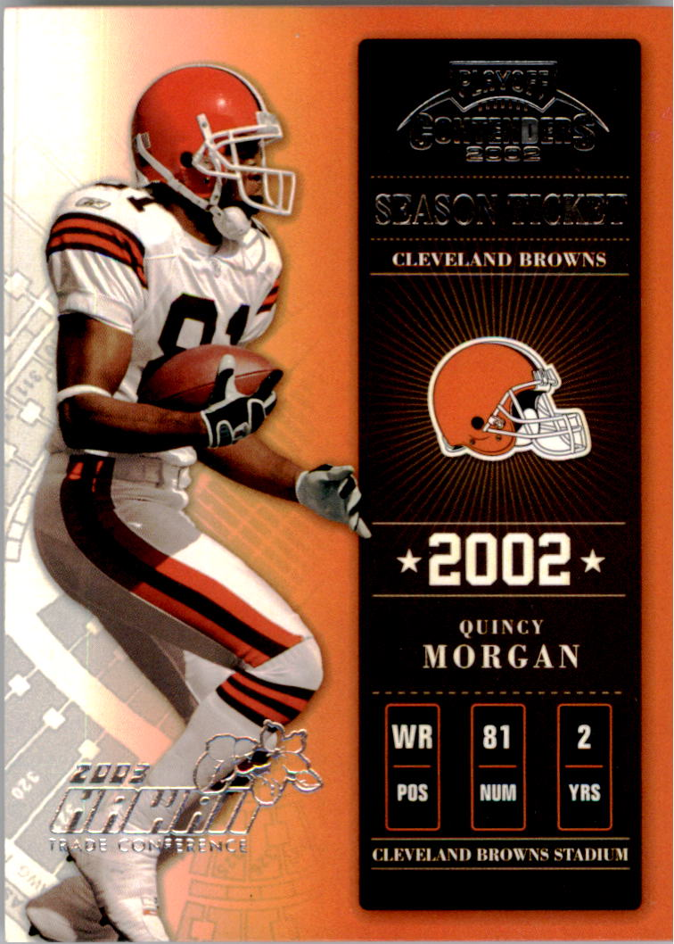 2002 Playoff Contenders Hawaii 2003 #20 Quincy Morgan