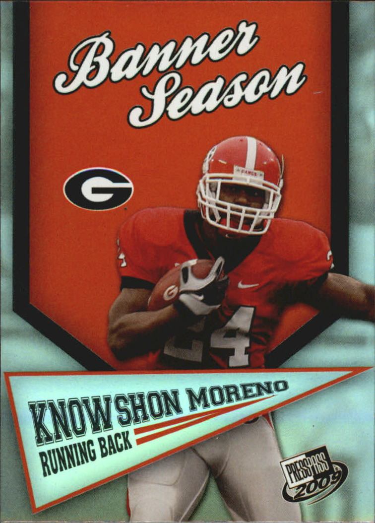 2009 Press Pass Banner Season #BS11 Knowshon Moreno