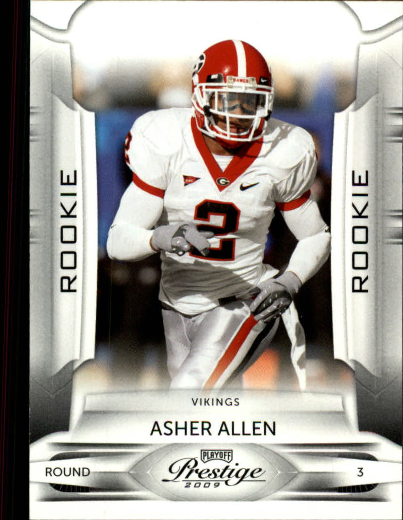 2009 Playoff Prestige #108 Asher Allen RC