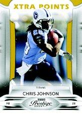 2009 Playoff Prestige Xtra Points Gold #96 Chris Johnson