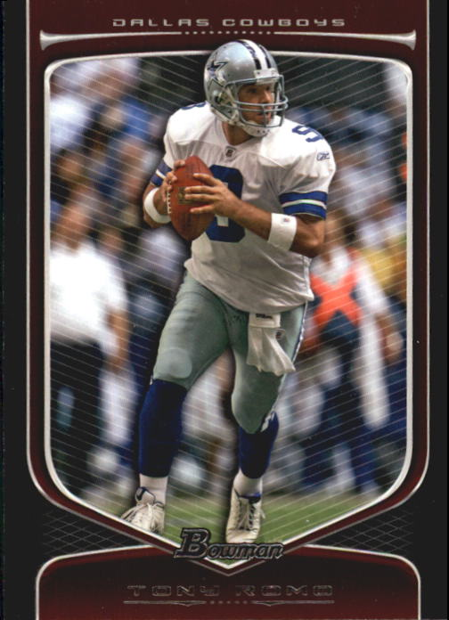 2009 Bowman Draft #4 Tony Romo