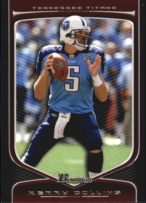 2009 Bowman Draft #13 Kerry Collins