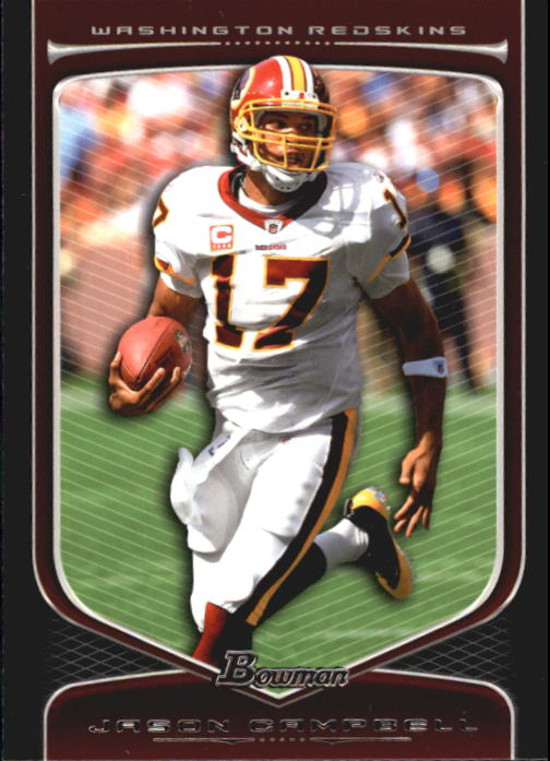 2009 Bowman Draft #15 Jason Campbell