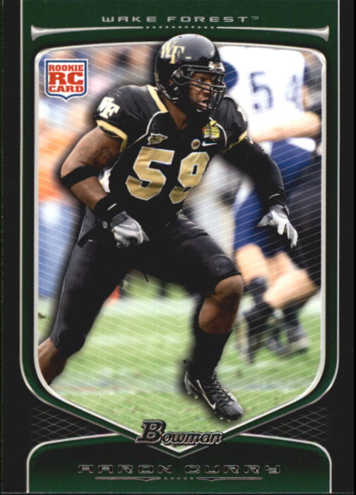 2009 Bowman Draft #117 Aaron Curry RC
