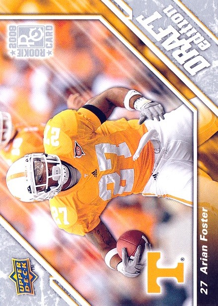 2009 Upper Deck Draft Edition #78 Arian Foster RC