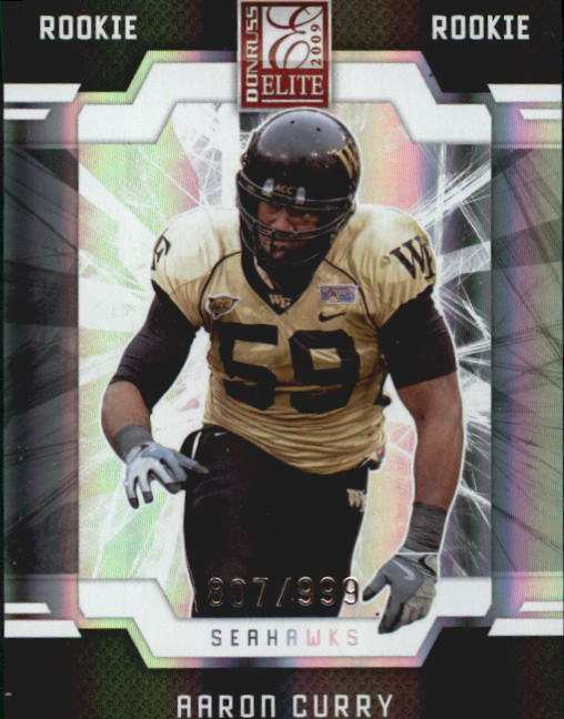 2009 Donruss Elite #101 Aaron Curry RC