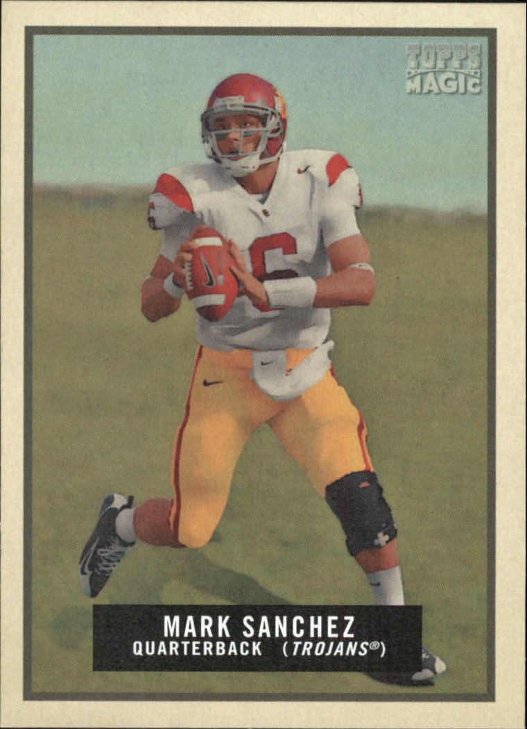 2009 Topps Magic #144 Mark Sanchez RC front image
