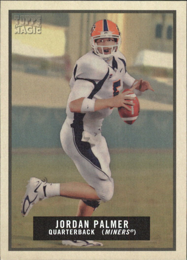 2009 Topps Magic #168 Jordan Palmer