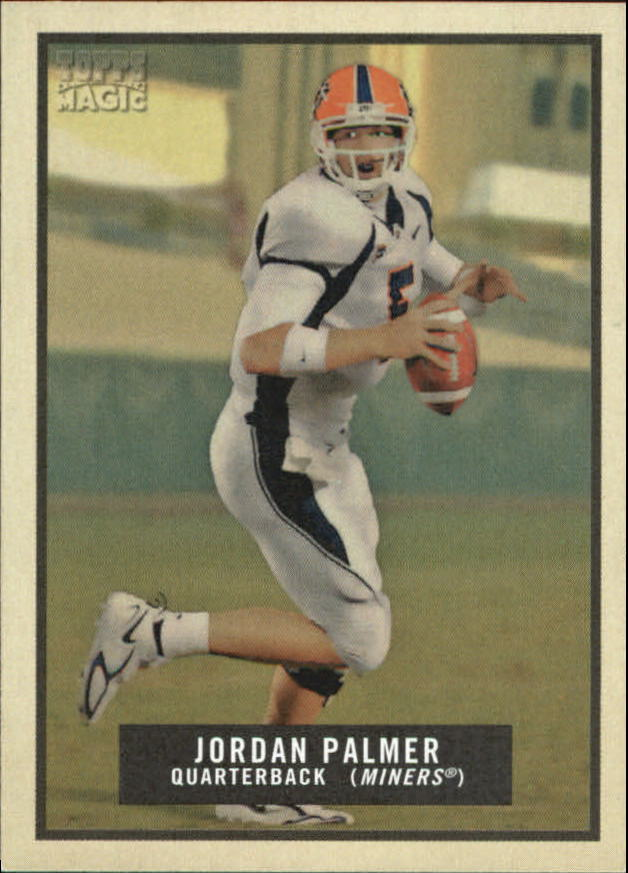 2009 Topps Magic Mini #168 Jordan Palmer