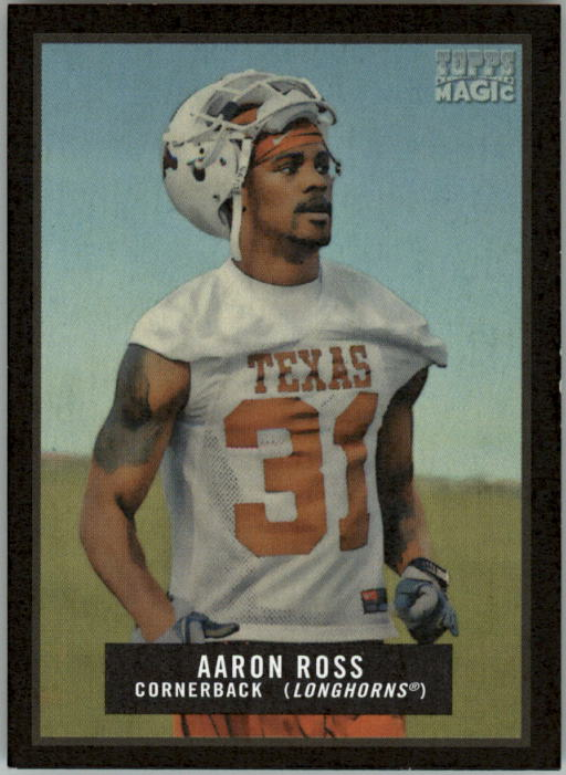 2009 Topps Magic Mini Black #42 Aaron Ross