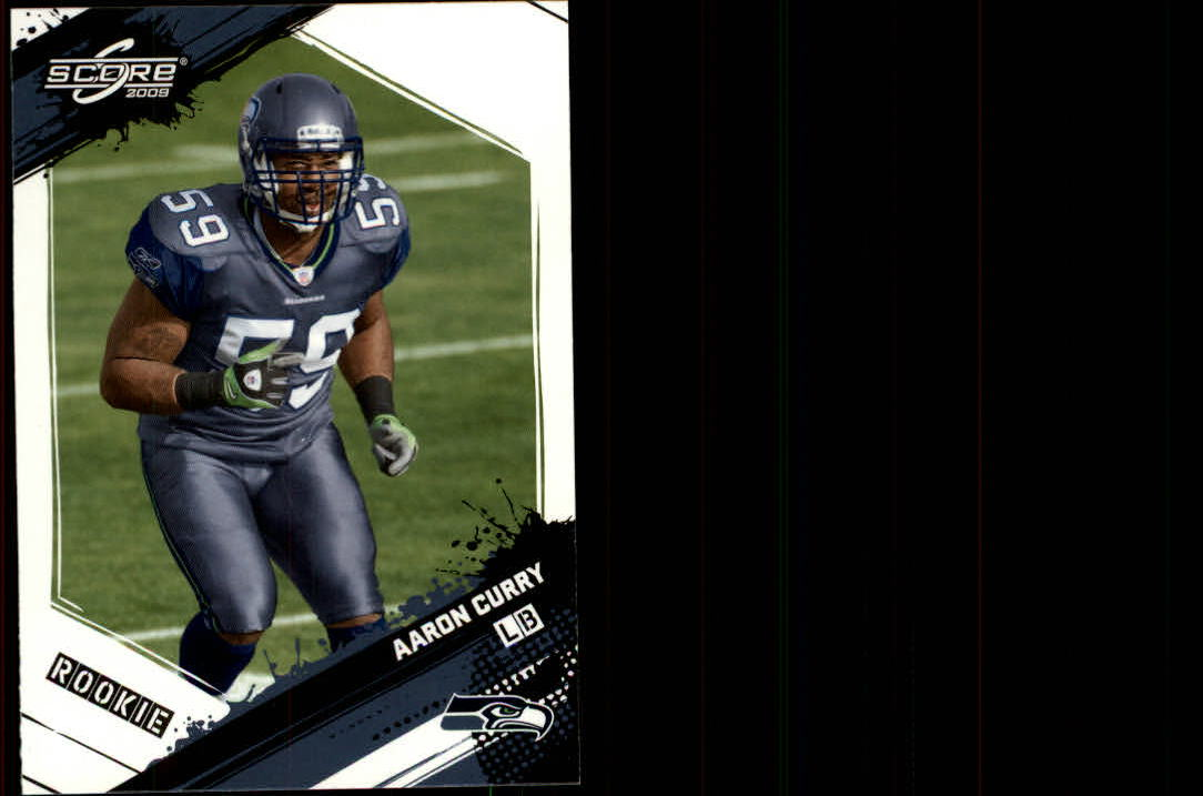 2009 Score #302 Aaron Curry RC