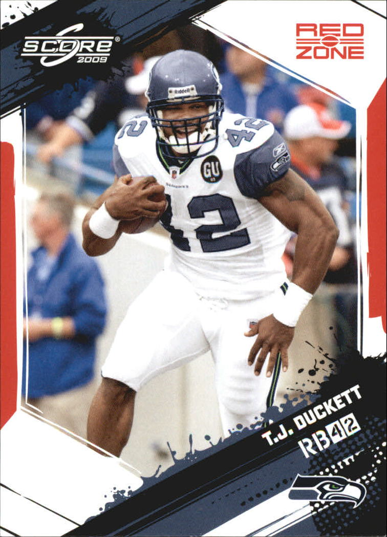 2009 Score Red Zone #263 T.J. Duckett