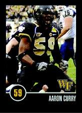 2008 Wake Forest Schedules #7 Aaron Curry