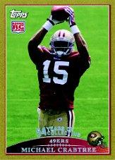 2009 Topps Gold #420 Michael Crabtree