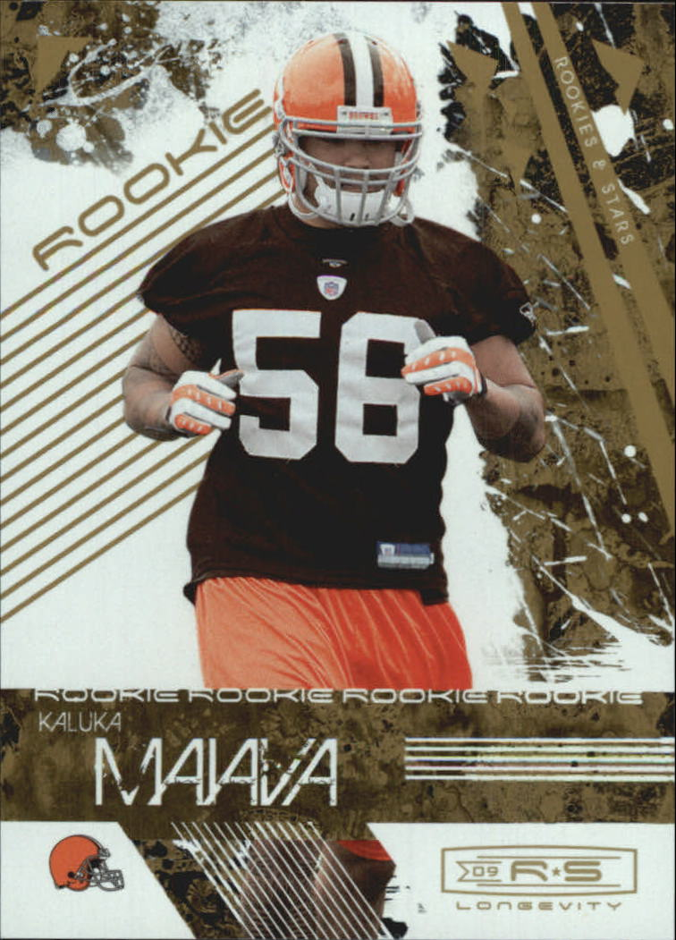 2009 Donruss Rookies and Stars Longevity #165 Kaluka Maiava RC