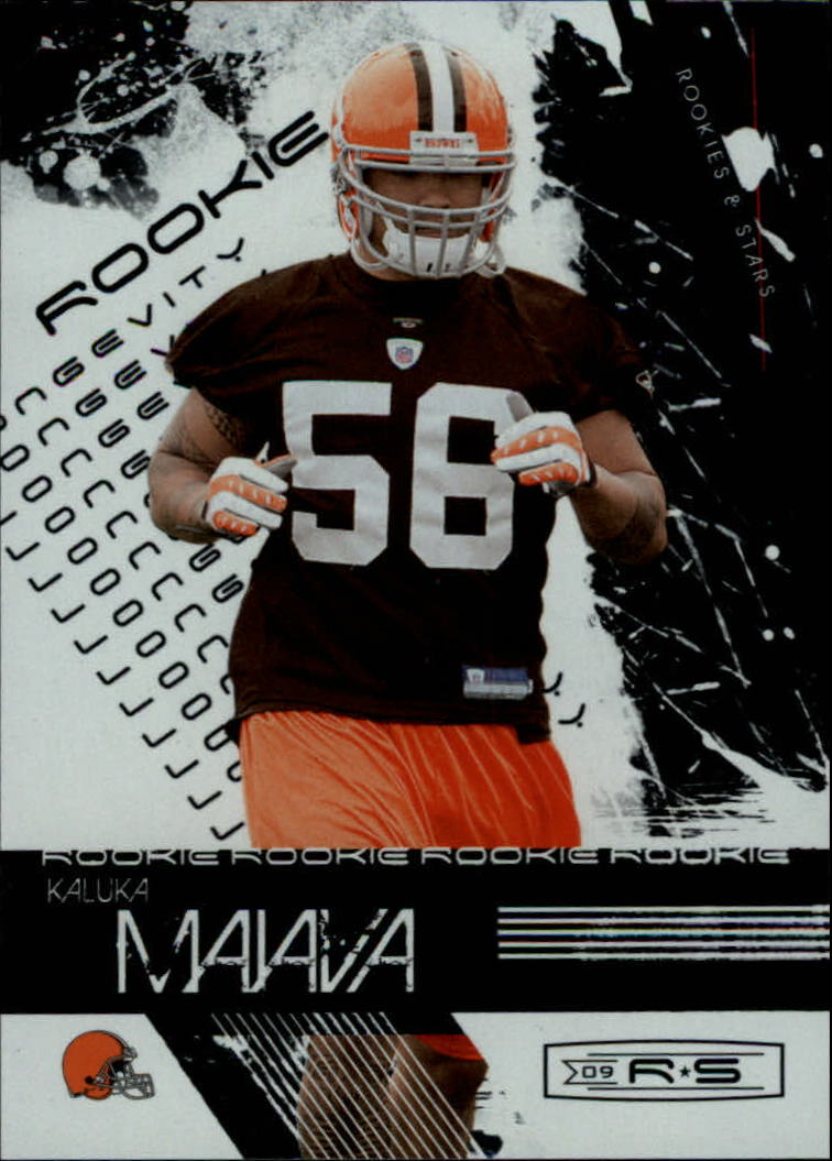 2009 Donruss Rookies and Stars Longevity Parallel Silver #165 Kaluka Maiava