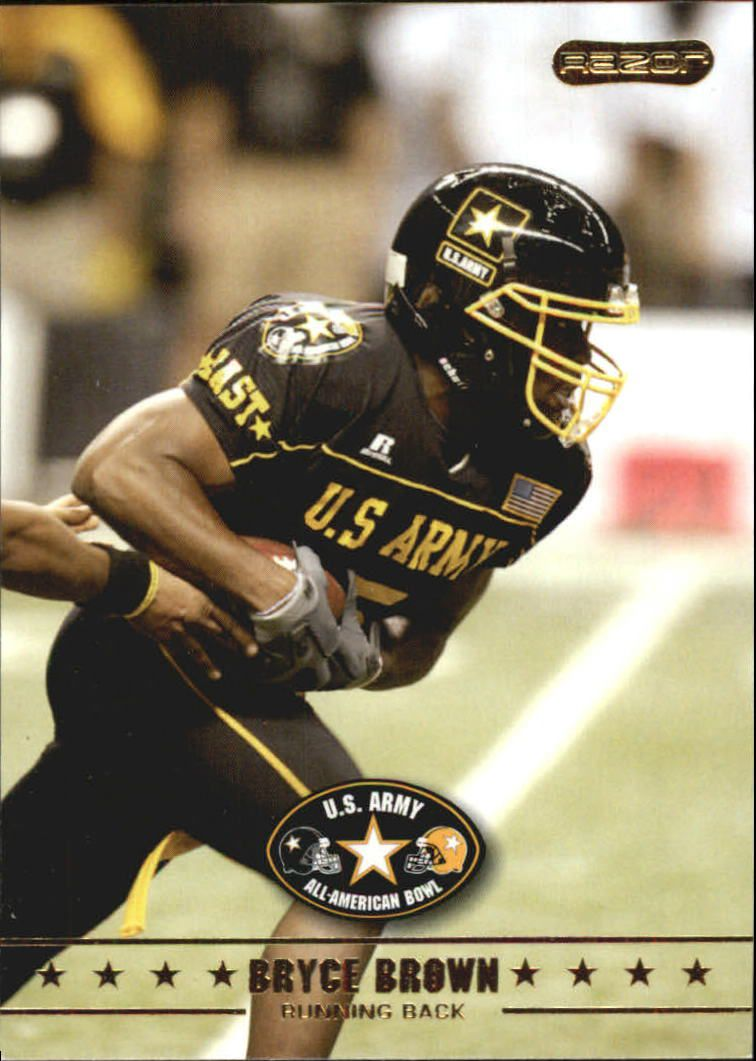 2009 Razor Army All-American Bowl #1 Bryce Brown