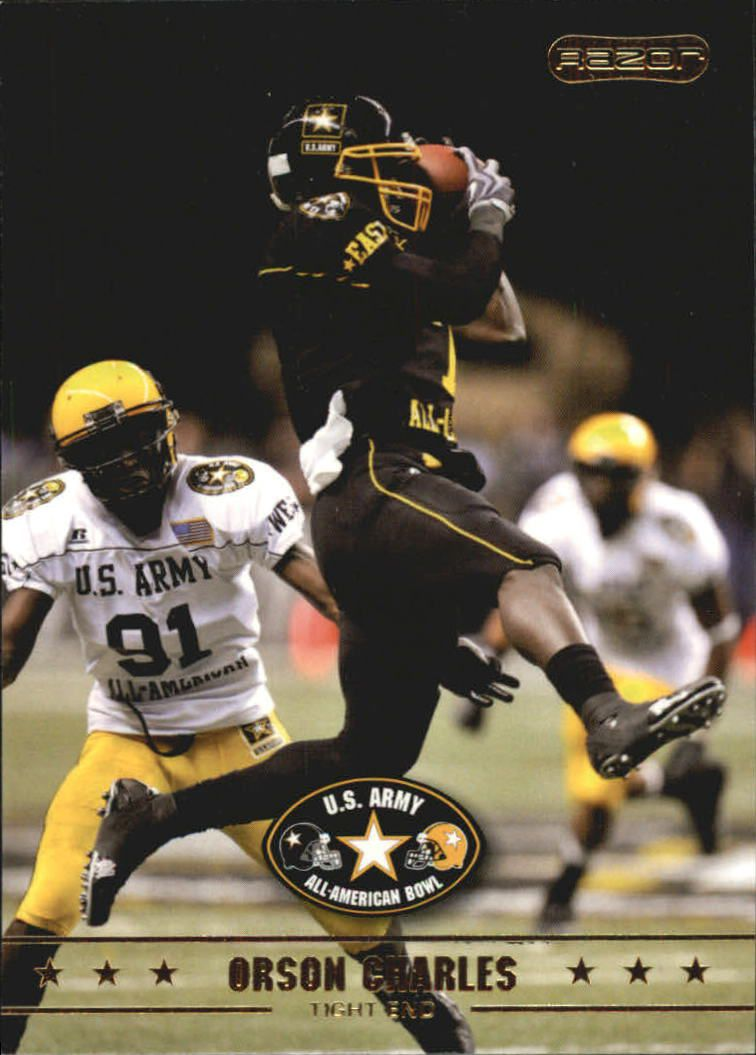 2009 Razor Army All-American Bowl #3 Orson Charles