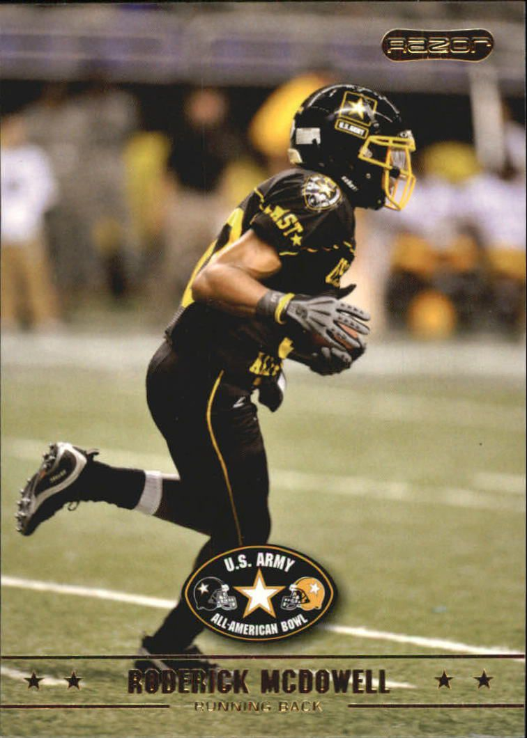 2009 Razor Army All-American Bowl #4 Roderick McDowell