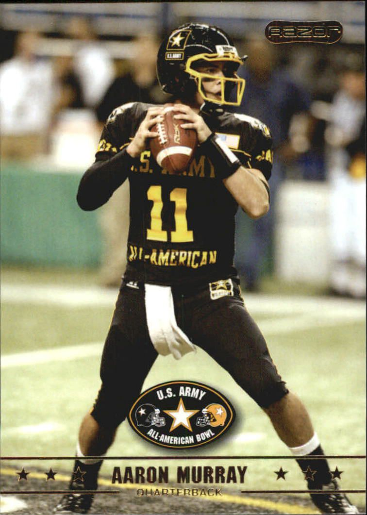 2009 Razor Army All-American Bowl #5 Aaron Murray