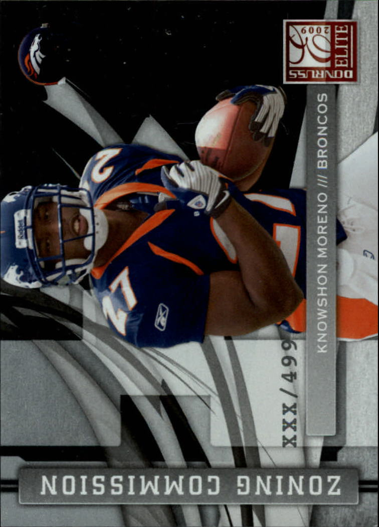 2009 Donruss Elite National Convention Insert Promos #KM Knowshon Moreno ZC