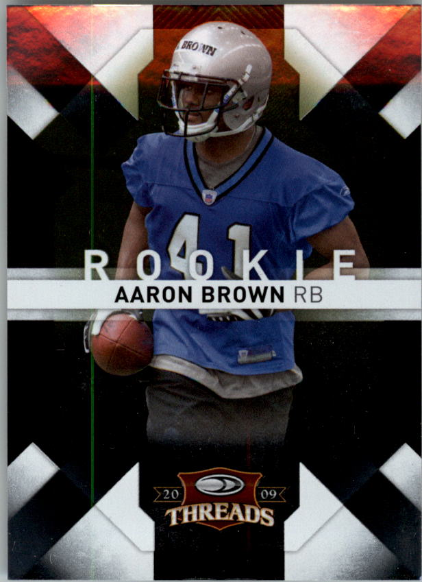 2009 Donruss Threads #101 Aaron Brown RC