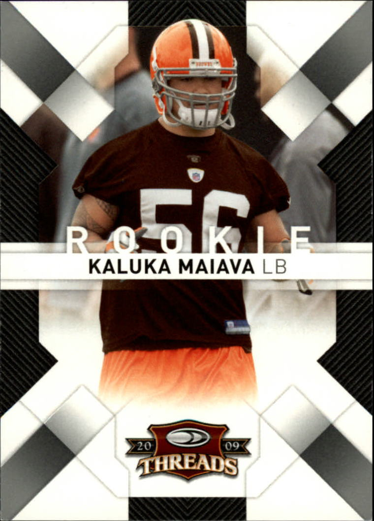 2009 Donruss Threads Retail Rookies #158 Kaluka Maiava RC