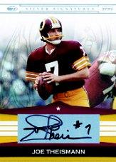 2008 Donruss Playoff Silver Signatures #JT2 Joe Theismann/1050*