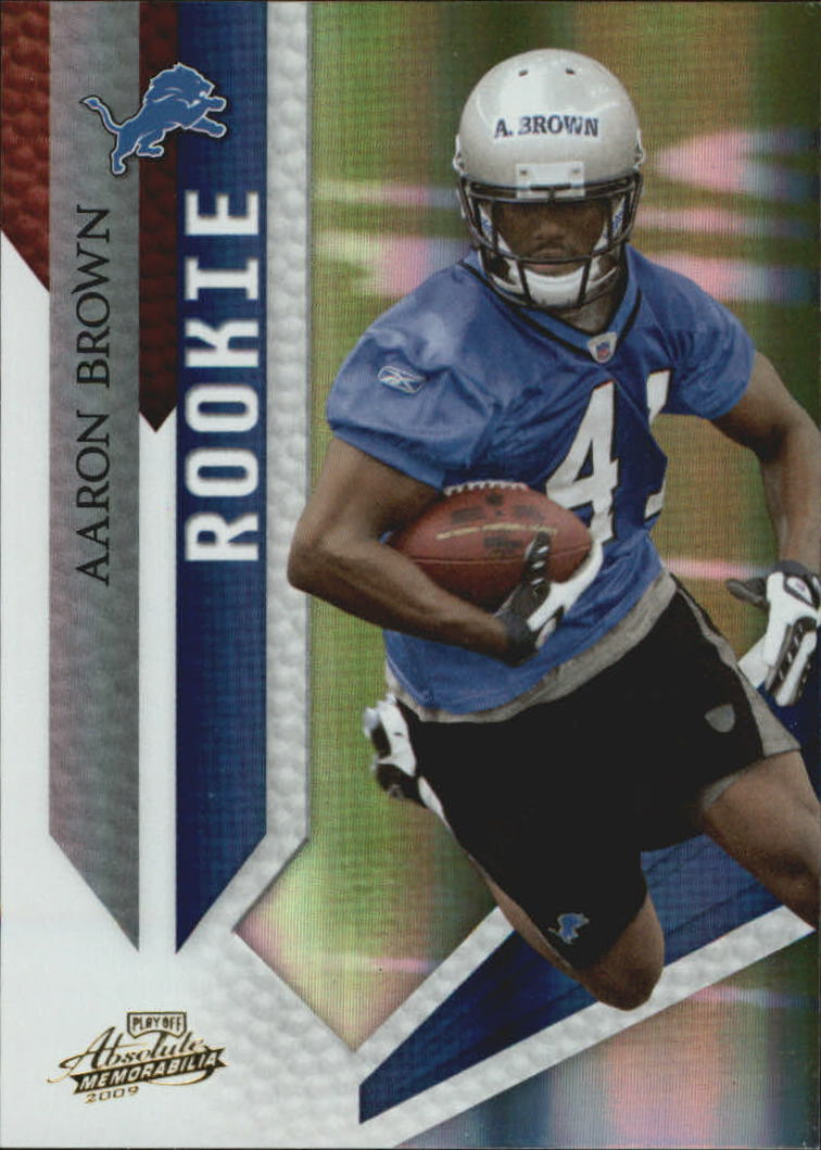2009 Absolute Memorabilia #103 Aaron Brown RC