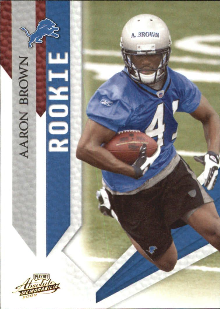 2009 Absolute Memorabilia Retail #103 Aaron Brown RC