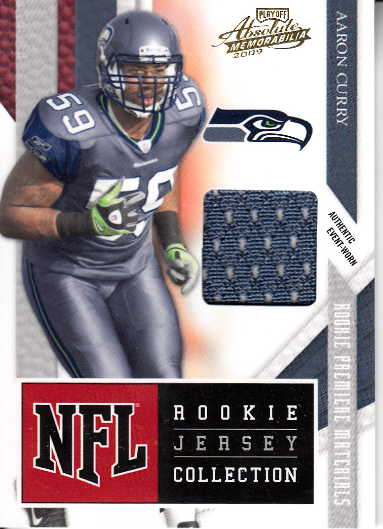 2009 Absolute Memorabilia Rookie Jersey Collection #13 Aaron Curry