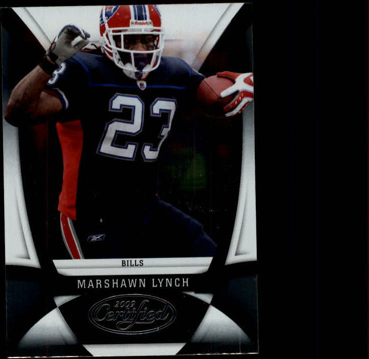 2009 Certified #17 Marshawn Lynch