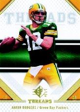 2009 SP Threads #1 Aaron Rodgers