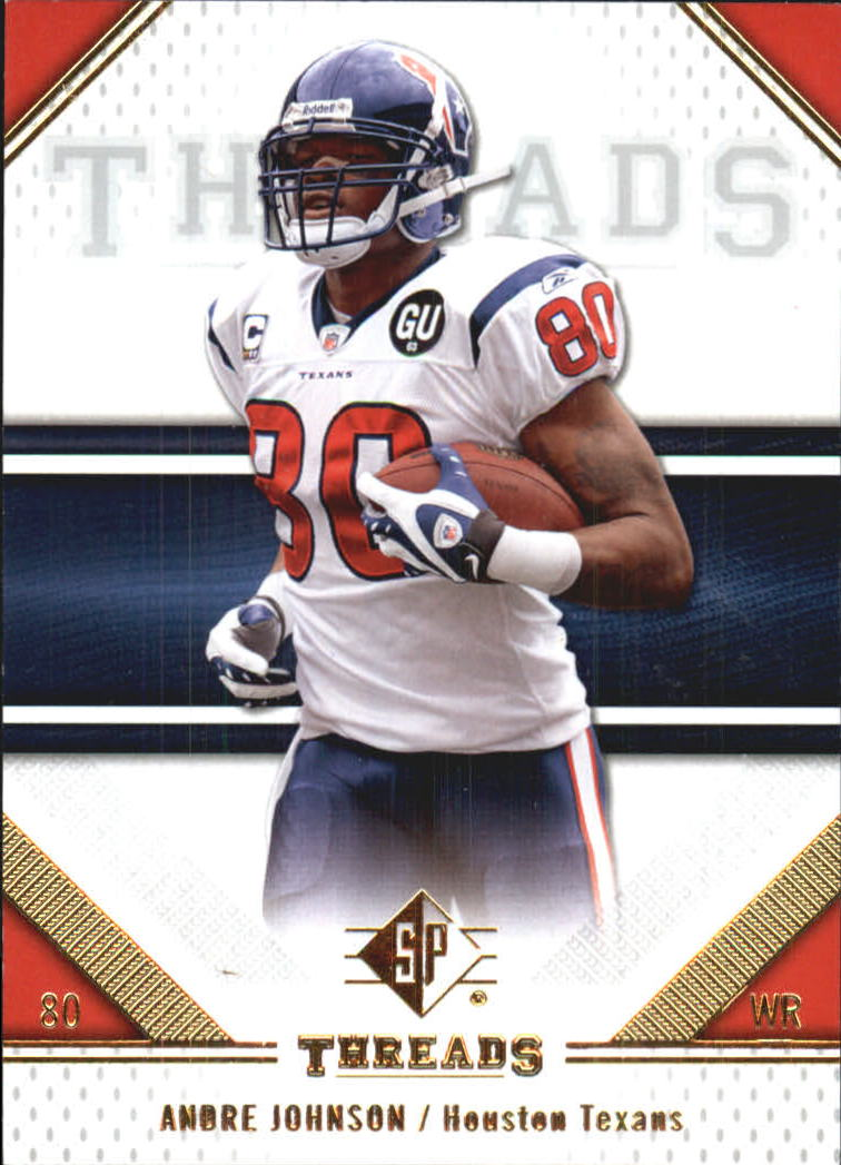 2009 SP Threads #3 Andre Johnson