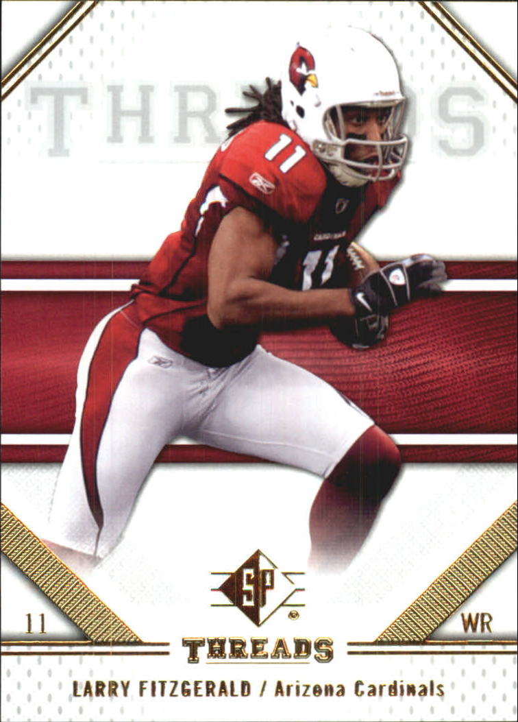 2009 SP Threads #60 Larry Fitzgerald