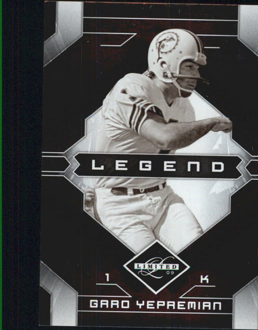 2009 Limited #118 Garo Yepremian