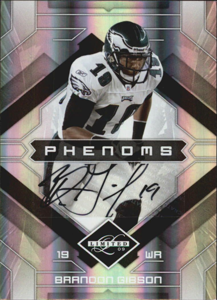2009 Limited #157 Brandon Gibson AU/399 RC