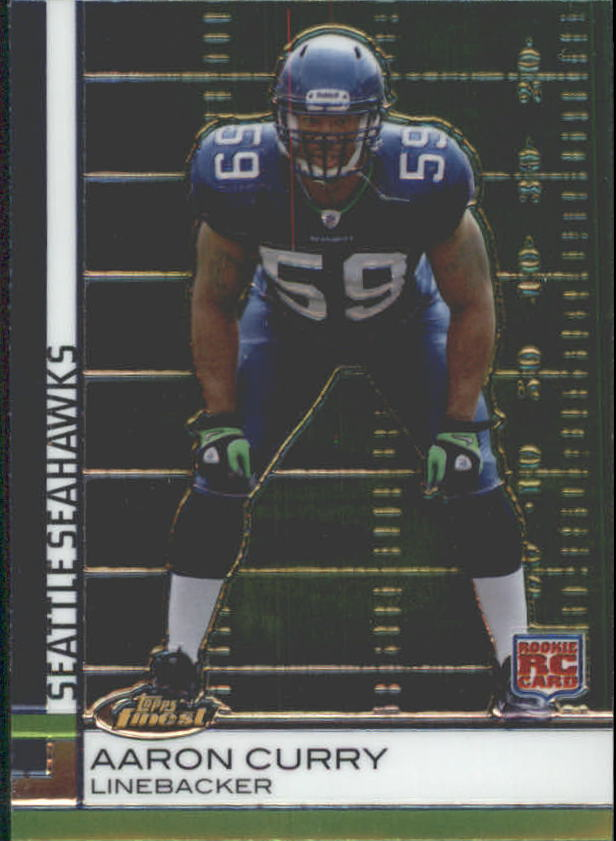 2009 Finest #76 Aaron Curry RC